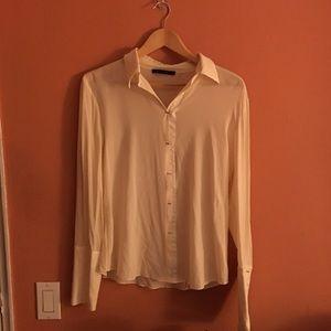 Elie Tahari Tops - ELIE TAHARI Silk blouse with metal closures