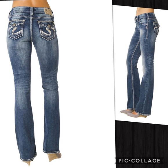 "65% off Silver Jeans Denim - ✨SILVER JEANS in SUKI 17"" SURPLUS ..."