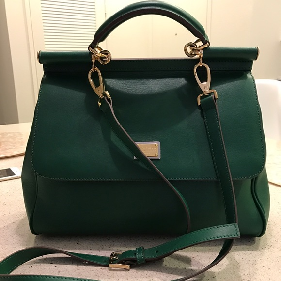 f7e809104f89 Dolce   Gabbana Handbags - Dolce Gabbana green bag. Used twice.