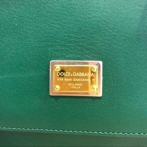 0dd8fea8133 Dolce   Gabbana Bags   Dolce Gabbana Green Bag Used Twice 400   Poshmark