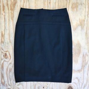 Express black pencil skirt size 00