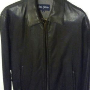 Leather Crown Other - Mens leather jacket