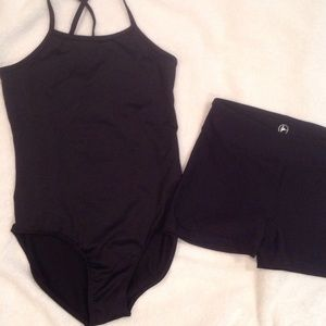 Old Navy Other - Dance or gymnastics leotard and shorts