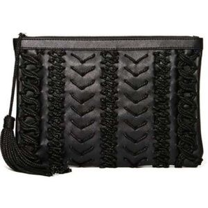 NEW nila Anthony woven large clutch