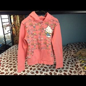 Other - ❤️Hello kitty hoody for girls size Large❤️