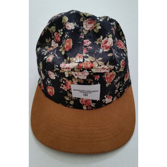 Urban Outfitters Floral Baseball Cap 997fabf85143