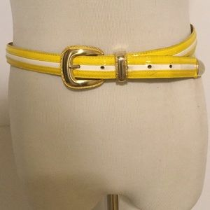 Accessories - Yellow and White Belt