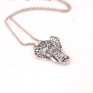 Jewelry - Boho Turquoise Elephant Necklace