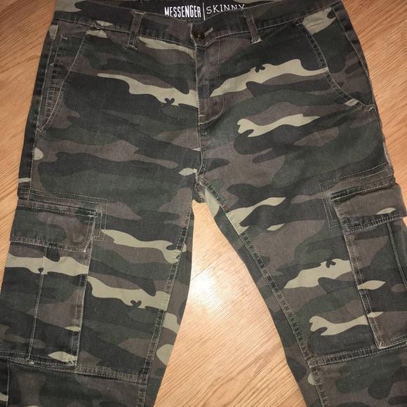 50c7763c Free World Other - Free World Messenger skinny camouflage pants