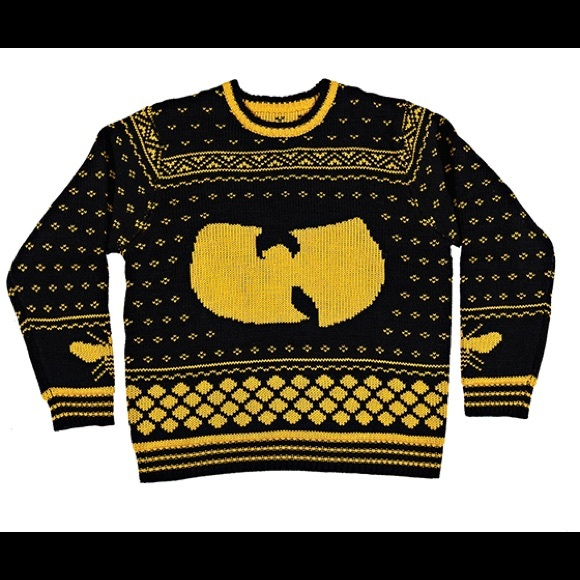 Urban Outfitters Ugly Christmas Sweater.Shredders 36 Chambers Wu Tang Christmas Pullover S