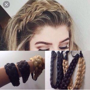 ❣️12 COLORS❣️ Boho Braided Headband Fishtail Braid