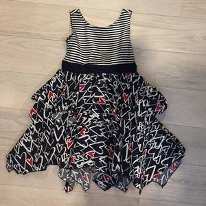 Kate Mack Other - Kate Mack Girls size 5 navy and white dress.