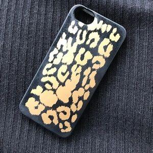 J. Crew Accessories - J. Crew Leopard Print iPhone 5 case