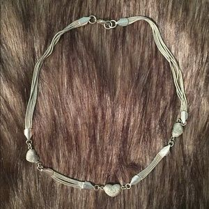 Zales Jewelry - Sterling Silver Heart Necklace
