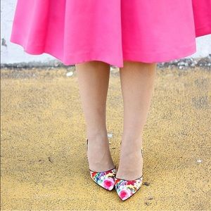 Steve Madden Shoes - Floral pumps