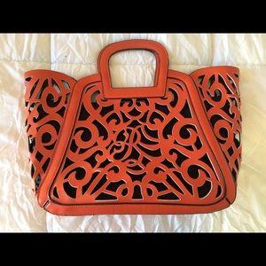 Handbags - Orange Handbag