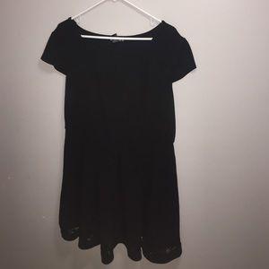 Super Cute Plus Size Mid Length Dress