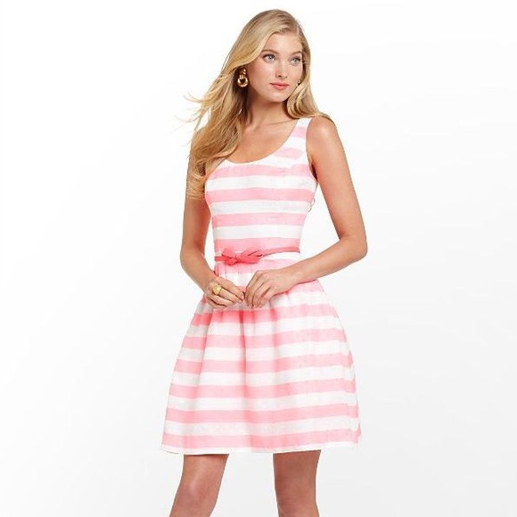 6bb9daa5555 Lilly Pulitzer Dresses   Skirts - Lilly Pulitzer pink and white striped  dress