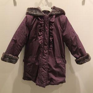 Lili Gaufrette Other - Lili Gaufrette Reversible Faux Fur Coat Size 4