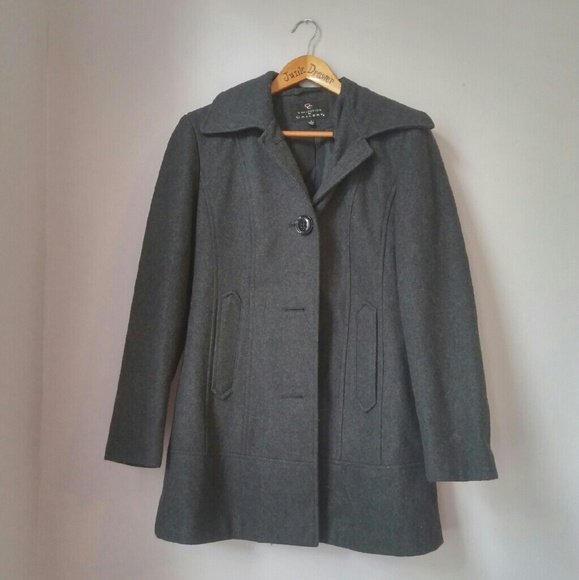 Gallery - Sale! Wool Blend Pea Coat Sm from !!! sarah's closet on ...