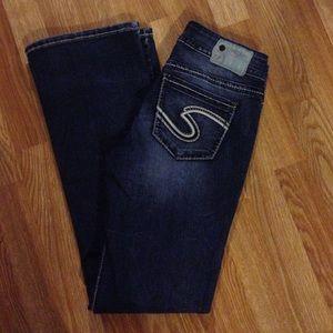 61% off Silver Jeans Denim - Silver Jeans Suki Capri Distressed ...