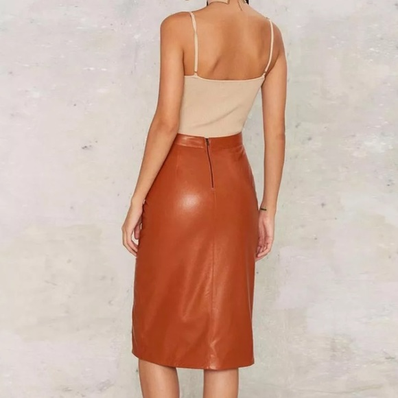 68 gal dresses skirts hp orange high