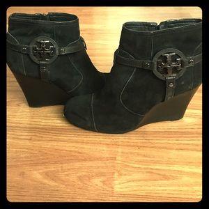 Tory Burch Shoes - Tory Burch Suede Booties
