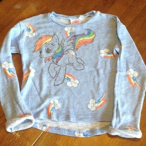 My Little Pony Other - My little pony blue sweater girls 7/8