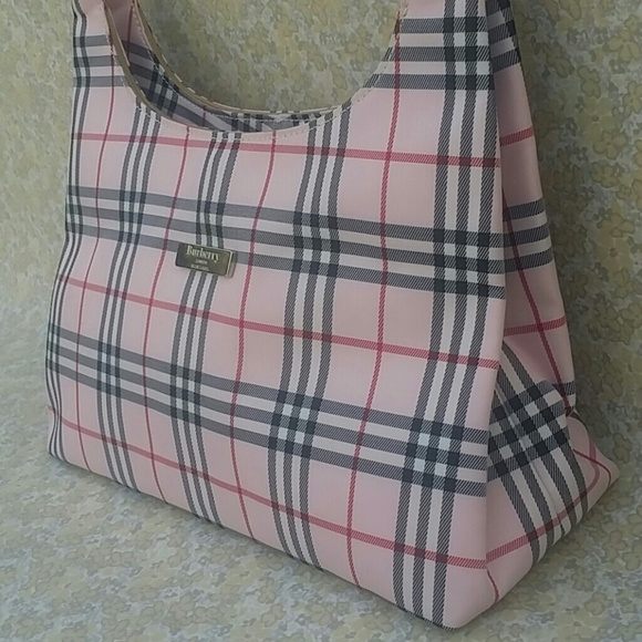 Burberry Handbags - Burberry London Blue Label Pink Nova Check Purse 9e90eb8fab2b1