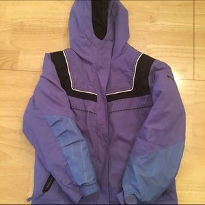 Columbia Other - Size 6 6X purple Colombia winter coat
