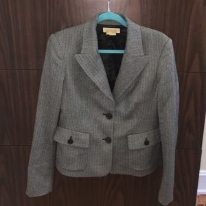 Michael Kors Tweed Blazer