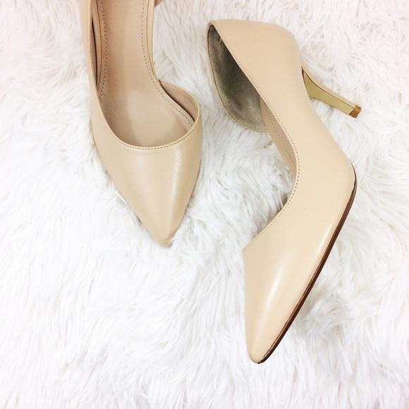 2d828158ac Nordstrom Shoes | 14th Union Alyce Lea Dorsay Nude Pumps | Poshmark