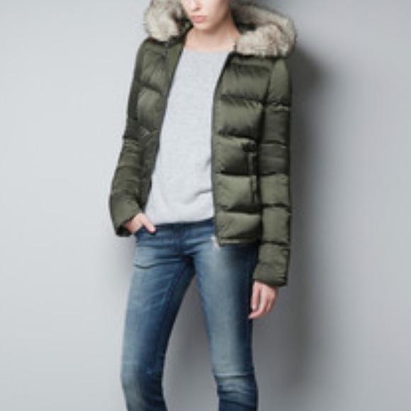 5ca5f31f Zara puffer coat from Trafaluc collection