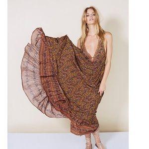 Floral romantic maxi dress
