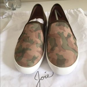 Joie Huxley Camouflage Skate Sneaker NWOT
