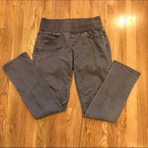 Gap grey always skinny jeans, Maternity size 28/6