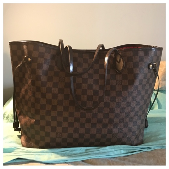Louis Vuitton Handbags - LOUIS VUITTON Damier Ebene Neverfull GM Tote Bag 785993fef7ea3