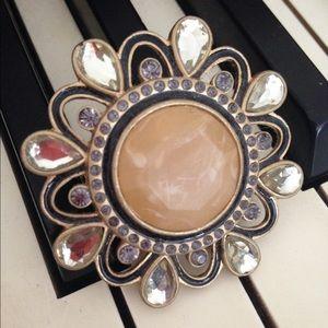 Lia Sophia Jewelry - Lia Sophia Parasol Brooch