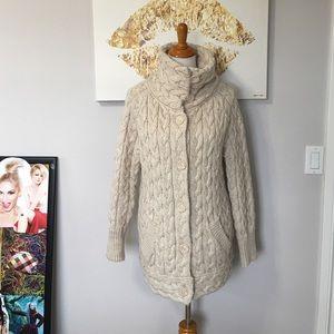 Zara Sweaters - Zara Long Button Up Sweater