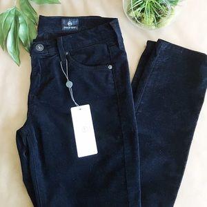 AG Adriano Goldschmied Pants - 🆕 AG Black Velvet Skinny Jeans