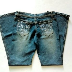 Rue21 Jeans - ⬇HP Rhinestone Blinged Out Jeans