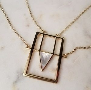 Jewelmint gold and pearl necklace