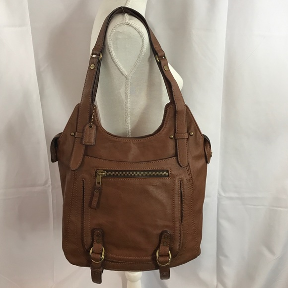 infinito Envío Pronunciar  Clarks Bags | Saleclarks Medium Brown Synthetic Leather Handbag | Poshmark