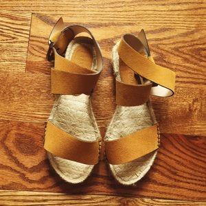 Shoes - Zara suede espadrilles
