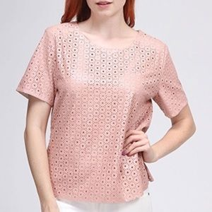 Moon Collection Tops - Just in!Laser Cut top in pink