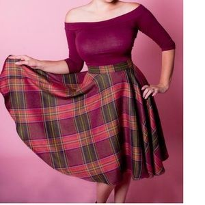 heart of haute Dresses & Skirts - Pin up rockabilly skirt