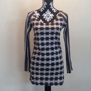 Norma Kamali Dresses & Skirts - Norma Kamari Organic Cotton Crew Dress sz. Small