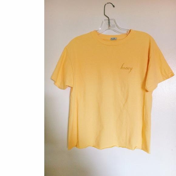 Brandy Melville Tops Honey T Shirt Poshmark