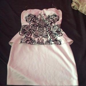 Windsor peplum dress