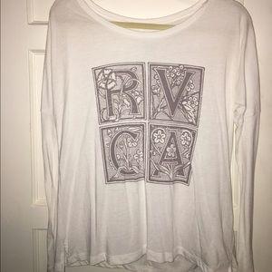 RVCA Tops - rvca long sleeve shirt
